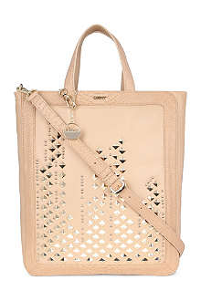 DKNY Skyline studded leather tote