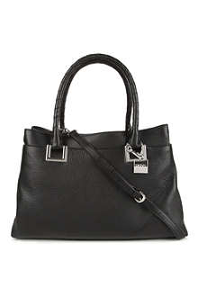 DKNY Crosby leather shopper