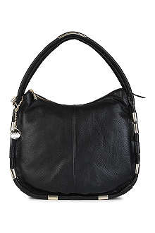 DKNY Crosby large leather hobo