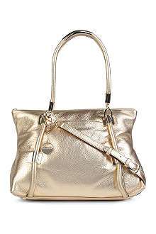 DKNY Crosby large leather shoulder bag