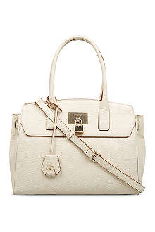 DKNY Beekman-French grain leather satchel