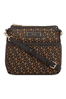 DKNY Logo print cross-body bag