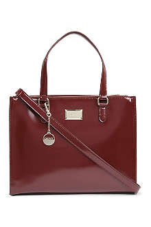 DKNY Hudson double zipper tote