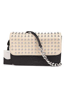 DKNY Python studded cross-body bag