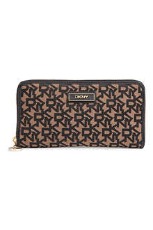 DKNY Town & Country twill wallet