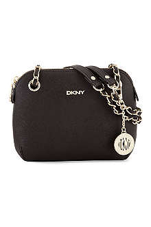 DKNY Round leather cross-body bag