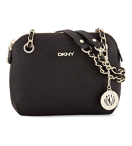 DKNY HQ cross-body bag (Black