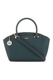 DKNY Small leather satchel