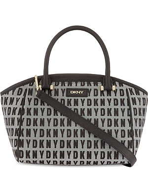 DKNY Logo satchel