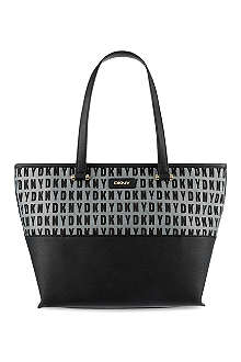 DKNY Logo shopper
