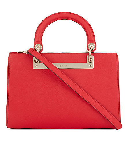 DKNY Hardware tote (Red