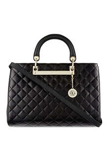 DKNY Quilted leather tote
