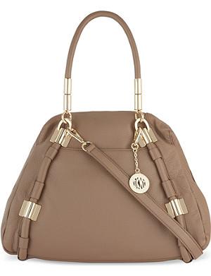 DKNY Crosby leather shoulder bag
