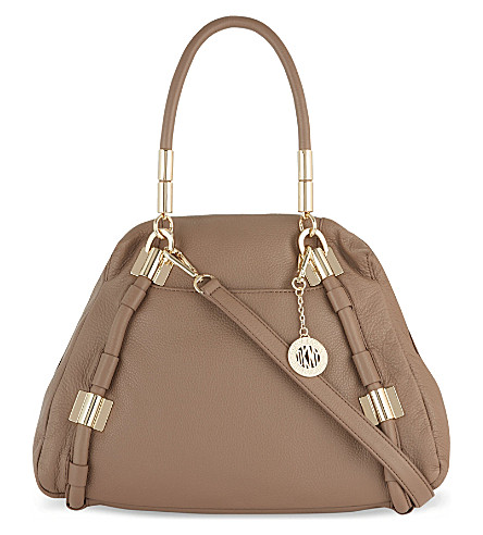 DKNY Crosby leather shoulder bag (Desert
