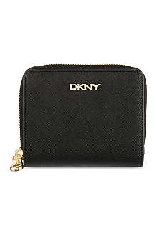 DKNY Saffiano leather purse