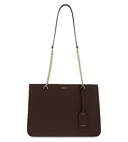 DKNY Bryant Park Saffiano leather shoulder bag (Oxblood