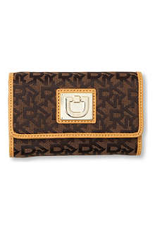 DKNY Town & Country Vintage twill wallet