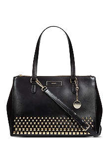 DKNY Studded leather tote