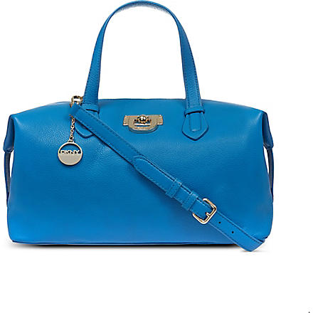 DKNY Vintage soft satchel (Blue