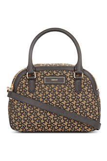 DKNY Town & Country round satchel