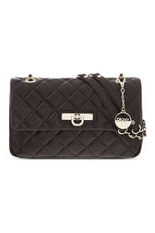 DKNY Quilted leather cross body