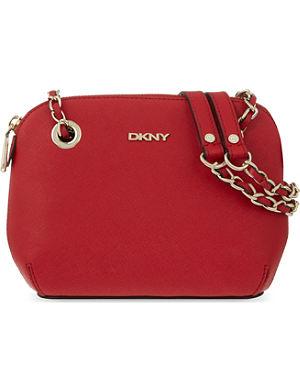 DKNY Saffiano leather cross-body bag