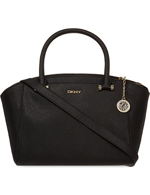 DKNY Saffiano small satchel