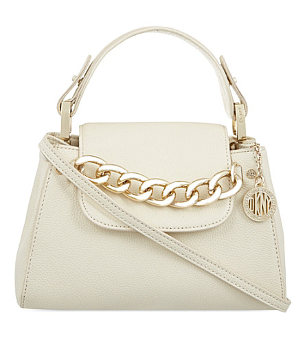 DKNY Chelsea top handle cross-body bag (Cream