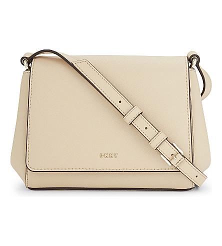 DKNY Bryant Park mini leather cross-body bag (Nude
