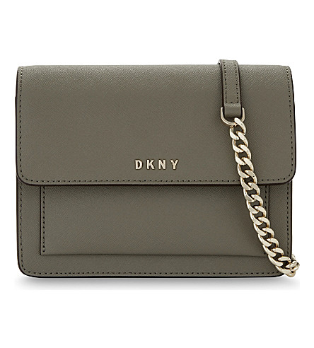 DKNY Bryant Park leather mini cross-body (Clay