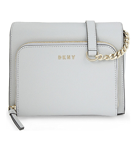 DKNY Bryant Park leather cross-body bag (Marble