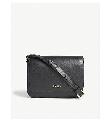 DKNY Byrant leather cross-body bag (Black