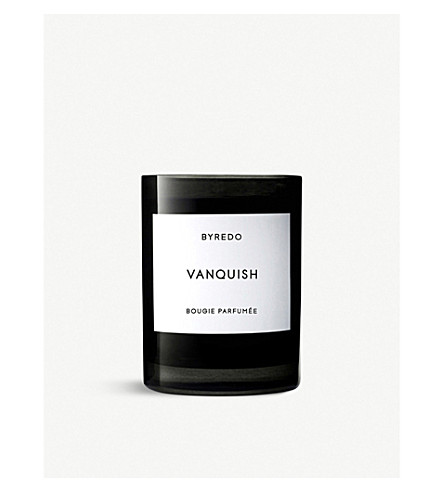 BYREDO Vanquish scented candle 240g
