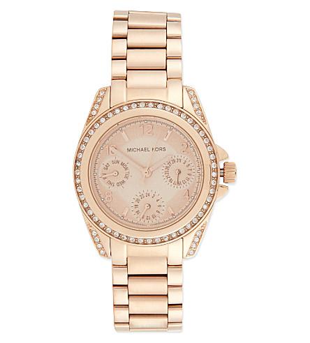 MICHAEL KORS WATCHES MK5613 Blair glitz watch (Rose gold
