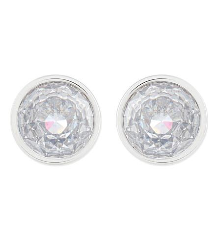 MICHAEL KORS JEWELLERY Crystal stud earrings (Silver