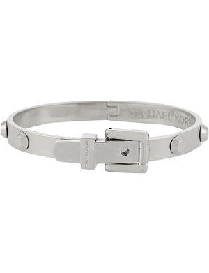 MICHAEL KORS JEWELLERY Astor buckle bangle bracelet
