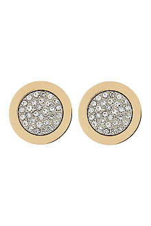 MICHAEL KORS JEWELLERY Pave stud earrings