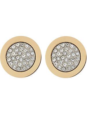 MICHAEL KORS JEWELLERY Pave stud earrings