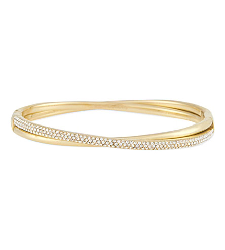 MICHAEL KORS JEWELLERY Jewel tone bangle (Gold