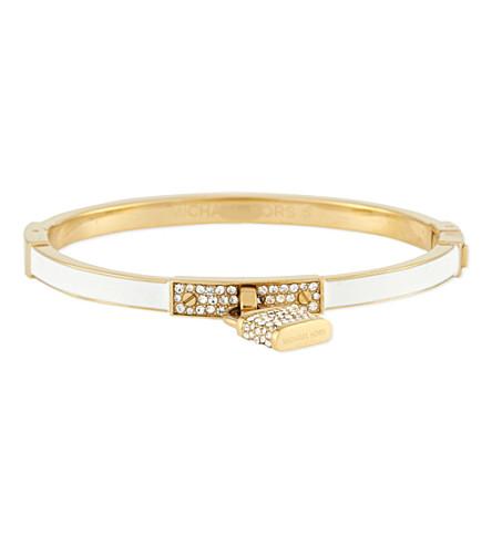 MICHAEL KORS JEWELLERY Padlock bracelet (White