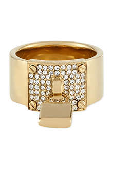 MICHAEL KORS JEWELLERY Padlock ring