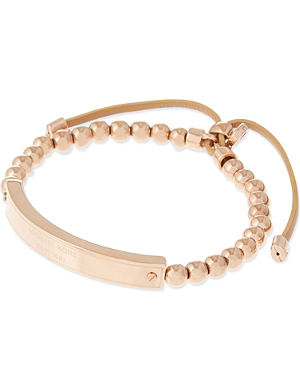 MICHAEL KORS JEWELLERY Plaque stretch bracelet