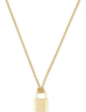 MICHAEL KORS JEWELLERY Padlock necklace