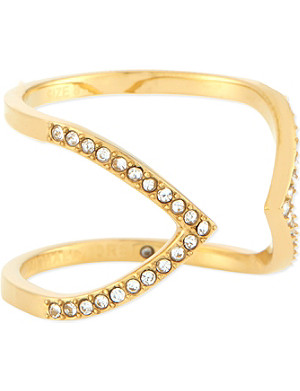 MICHAEL KORS JEWELLERY Arrow motif ring