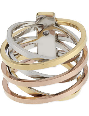 MICHAEL KORS JEWELLERY Brilliance criss-cross ring