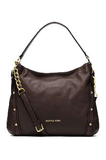 MICHAEL KORS Leigh leather shoulder bag
