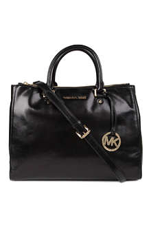 MICHAEL KORS Dressy leather tote