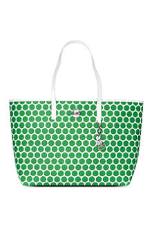 MICHAEL KORS Kiki polka-dot medium tote