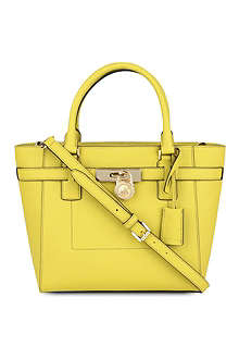 MICHAEL KORS Hamilton leather tote