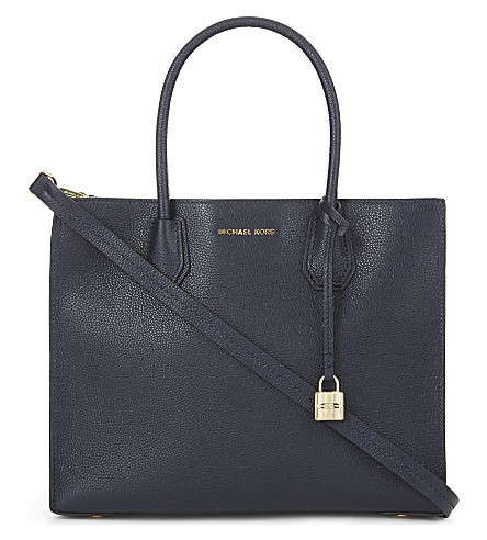MICHAEL MICHAEL KORS Mercer large leather tote (Admiral